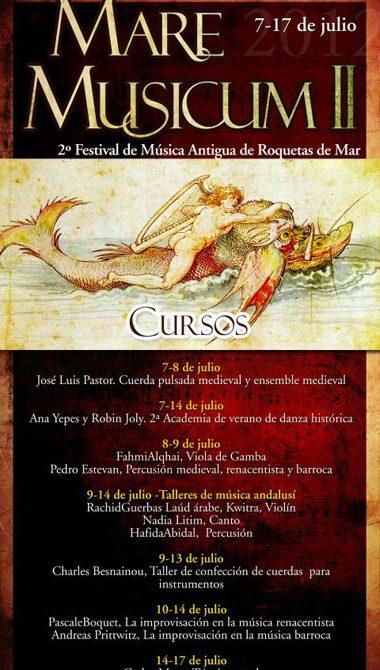 Roquetas de Mar - Mare Musicum - Cursos 2012