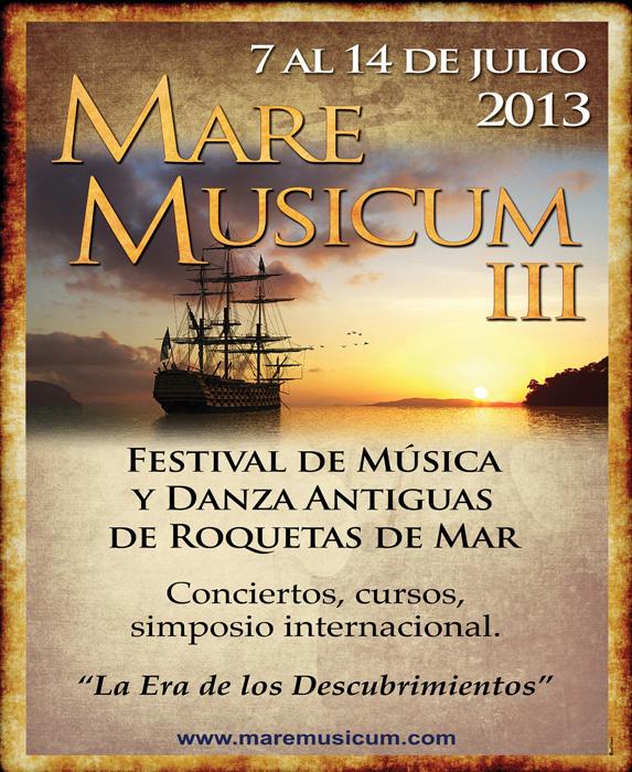 Roquetas de Mar - Mare Musicum - Cartel 2013