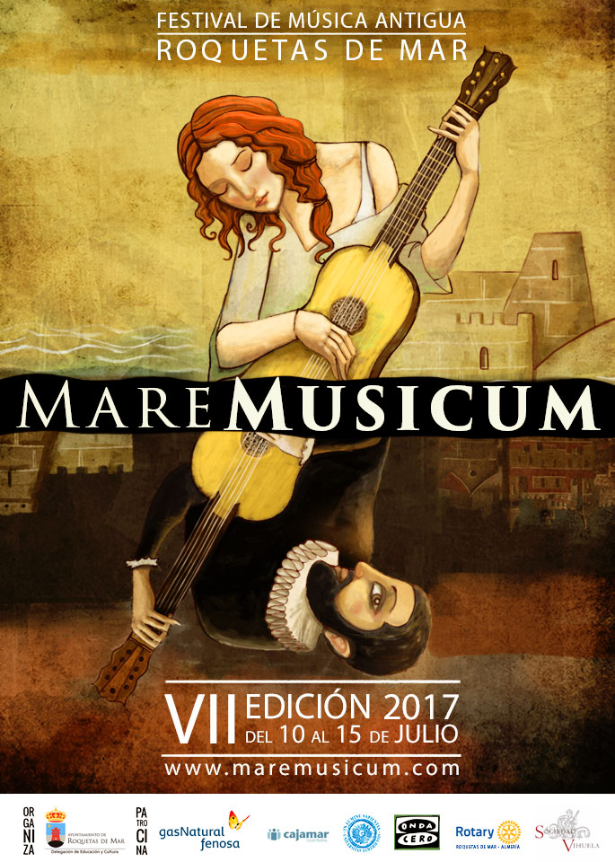Roquetas de Mar - Mare Musicum - Cartel 2017